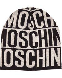 Moschino Cuffia berretto donna - Nero