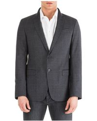 Emporio Armani Men's Jacket Blazer - Grey