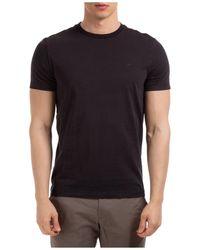 Michael Kors T-shirt maglia maniche corte girocollo uomo - Nero