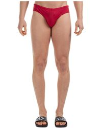 Emporio Armani Men's Brief Swimsuit Bathing Trunks Swimming Suit - Multicolor