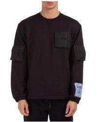 McQ Men's Sweatshirt Sweat Foam - Black