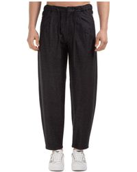 Emporio Armani - Men's Trousers Pants - Lyst