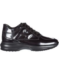 Hogan - Shoes Leather Trainers Sneakers Interactive - Lyst