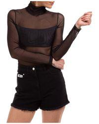 Gcds Women's Bodysuit Body Logo - Black
