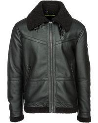 Versace Jeans Couture Outerwear Jacket Blouson - Black