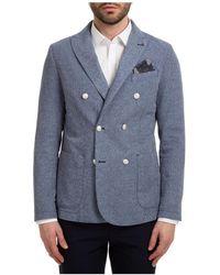 AT.P.CO Men's Jacket Blazer Svevo - Blue