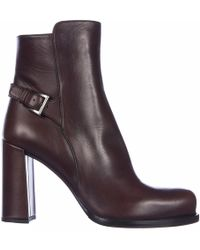 ee9190ea47e Lyst - Women s Prada Heel and high heel boots On Sale