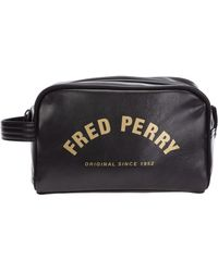 Fred Perry Beauty case viaggio uomo - Nero