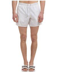 Emporio Armani Costume da bagno boxer mare uomo - Bianco