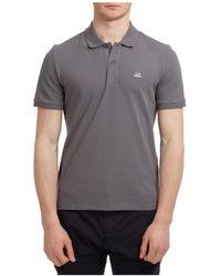 C.P. Company Polo t-shirt maglia maniche corte uomo classic logo - Grigio