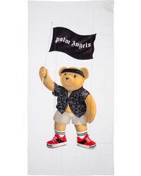 Palm Angels Men's Beach Towel Pirate Bear - Multicolour