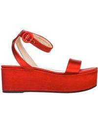 Prada Women's Sandals - Red