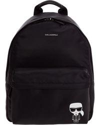 Karl Lagerfeld Rucksack Backpack Travel K/iconic - Black