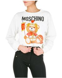 Moschino Women's Sweatshirt Roman Teddy Bear - Multicolour