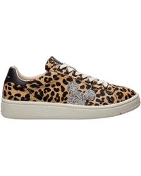 MOA Women's Shoes Leather Sneakers Sneakers Disney - Multicolour