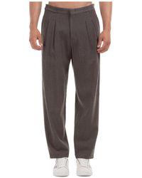 Emporio Armani Trousers Trousers - Grey