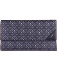 a627b314f26c Bally - Wallet Genuine Leather Cheque Book Balmhorn Canvas Coated - Lyst