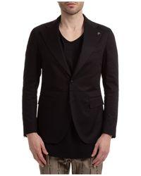 Gabriele Pasini Men's Jacket Blazer Roma - Black