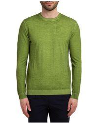 AT.P.CO Maglione maglia uomo girocollo - Verde