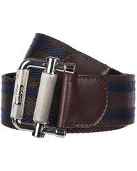 Tod's Men's Belt Cotton - Multicolour