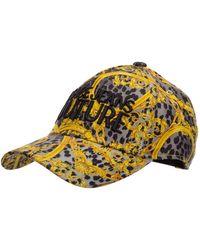 Versace Jeans Couture Adjustable Men's Hat Baseball Cap - Yellow