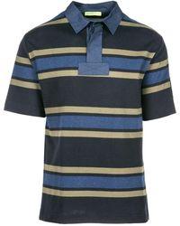 Versace Jeans Couture Polo t-shirt maglia maniche corte uomo - Blu