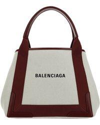 Balenciaga Borsa donna a mano shopping cabas navy - Neutro