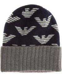 Emporio Armani Men's Beanie Hat - Multicolour
