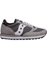 Saucony Men's Shoes Suede Trainers Trainers Jazz Original - Grey