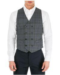 Emporio Armani Men's Jumper Waistcoat Vest - Multicolour
