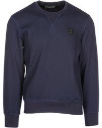 Alexander McQueen Men's Sweatshirt Sweat - Blue