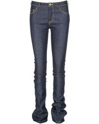 Victoria Beckham Slim Fit Skinny Jeans - Blue