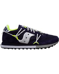 Saucony Men's Shoes Sneakers Sneakers Jazz Dst - Blue