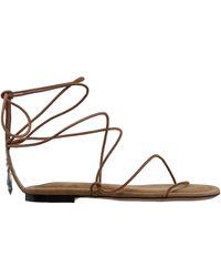 Isabel Marant Women's Leather Sandals - Multicolor
