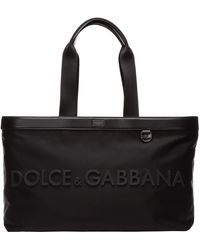 Dolce & Gabbana Men's Bag Handbag Nylon - Black