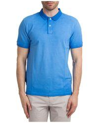 AT.P.CO Polo t-shirt maglia maniche corte uomo - Blu