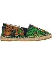 Dolce & Gabbana Boys Espadrilles Slip On Shoes New - Green