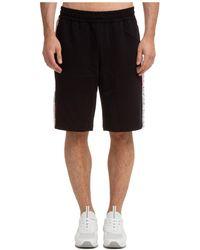 EA7 Men's Shorts Bermuda - Black