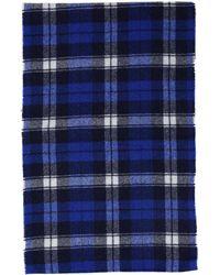 Acne Studios Men's Wool Scarf - Blue