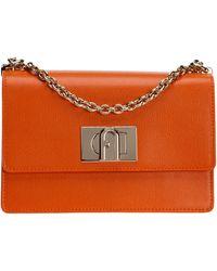 Furla Borsa donna a tracolla pelle borsello 1927 - Arancione