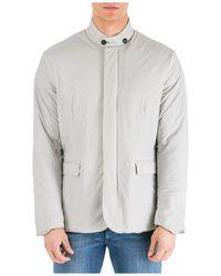 Emporio Armani Men's Outerwear Jacket Blouson - Grey