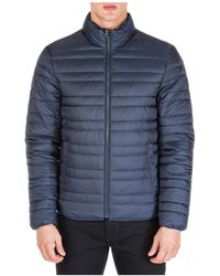 Michael Kors Outerwear Jacket Blouson Reversibile - Blue