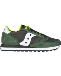Saucony Women's Shoes Suede Trainers Trainers Jazz O - Green