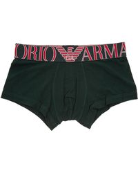 Emporio Armani Intimo boxer uomo - Verde