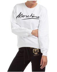 Moschino Women's Sweatshirt - White