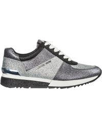 Michael Kors Scarpe sneakers donna in pelle allie - Multicolore