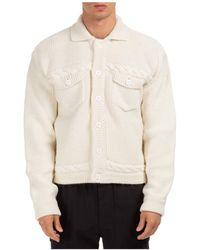 Gcds Wool'outerwear Jacket Blouson - White