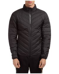 EA7 Men's Outerwear Down Jacket Blouson - Black