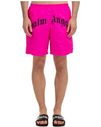 Palm Angels Trunks Swimsuit - Pink