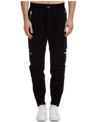 Represent Men's Pants Pants Military - Black